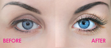 nouveau lashes france before and after eyelash extensions
